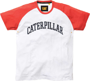 Cat White / Orange T-paita