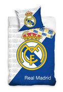 Real Madrid White Pussilakanasetti 150 x 210