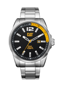 Cat oslo Steel Black/Yellow Rannekello
