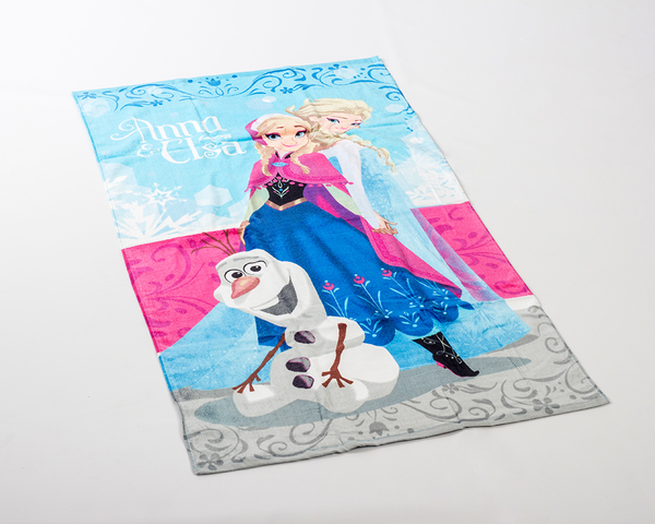 Frozen Anna and Elsa Pyyhe