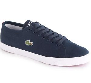 Lacoste Marcel Canvas Blue